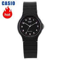 카시오 시계 포인터 시리즈 블랙 쿼츠 남녀 MQ-24-1B 시계
