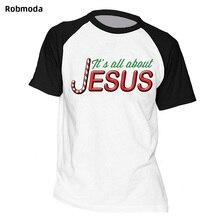 Jesus Christmas letter print Raglan t-shirt faith Bible Catholics gift t-shirt for men women short sleeve round neck t-shirt plus size letter print round neck short sleeves t shirt for men