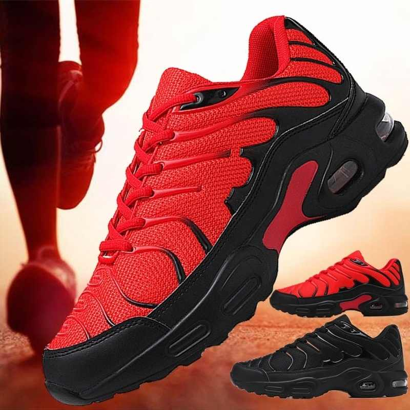 ใหม่แฟชั่น Air Cushion รองเท้ารองเท้าผ้าใบรองเท้าสำหรับผู้ชายรองเท้าสบายกีฬา Mens Zapatos De Hombre PLUS ขนาด 46