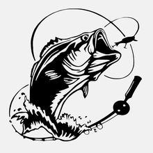 Красивый бас рыбы океан морская kk крышка царапины автомобиля