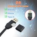 USB кабель для передачи данных S8, GPS-трекер, Android/iPhone, защита от потери, позиционирование, голосовые действия, зарядка, локатор позиционировани...
