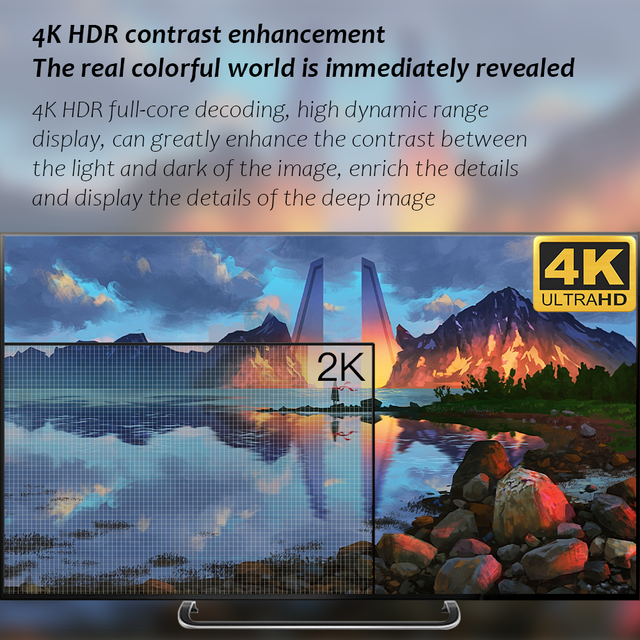 New H20 TV Box Android 10 2GB 16GB 4K TV receiver Media player 3D Video 2.4G Wifi H20 Smart TV BOX Android Set top box 5