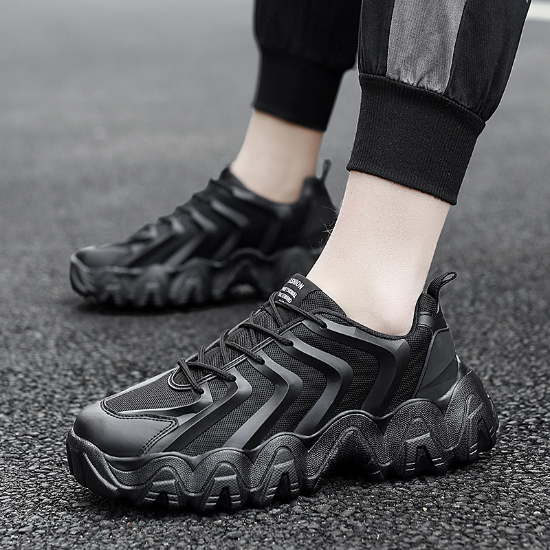 New Sneakers Men Running Shoes Casual Shoes Zapatillas Hombre Breathable Athletic Shoes Adults Trainers Lace-up Sneakers Male