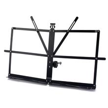 Desktop Music Stand Short Foot Foldable Tabletop Metal Sheet for Guitar Piano Violin Guitar Parts & Accessories p csige prelude for piano and violin