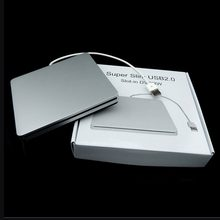 Tipe Laptop Hisap Super Slim USB 2.0 Slot Eksternal DVD Burner Drive Eksternal Kotak Case Penutup(China)