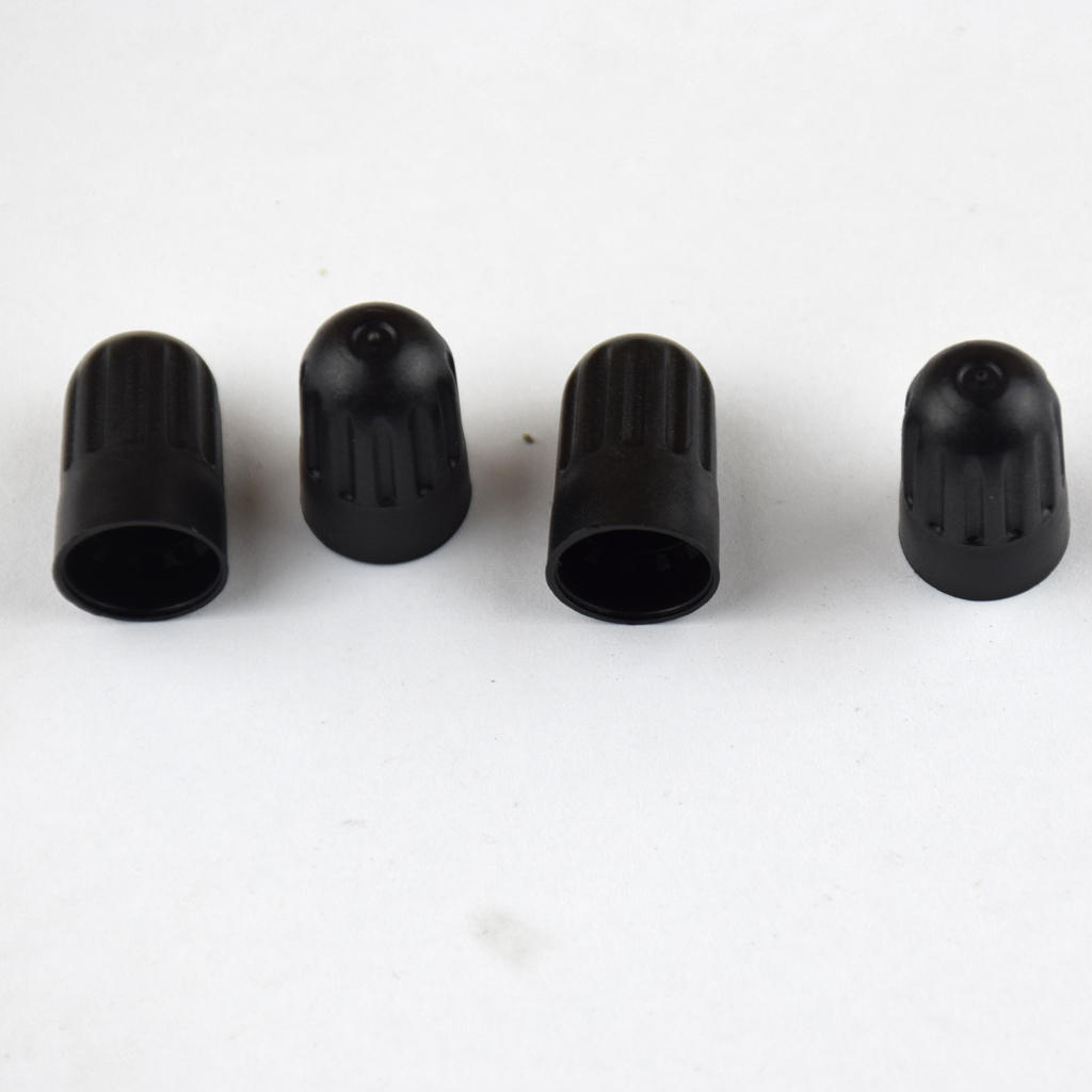 20Pcs Black Plastic Car Tire Air Valve Stem Caps Tyre Wheel Rims