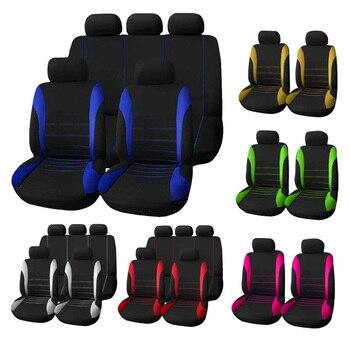Universal Car Seat Covers  5 Full Seats Cover Auto Accessories Interior for Opel Zafira Suzuki Nissan Kia Volkswagen