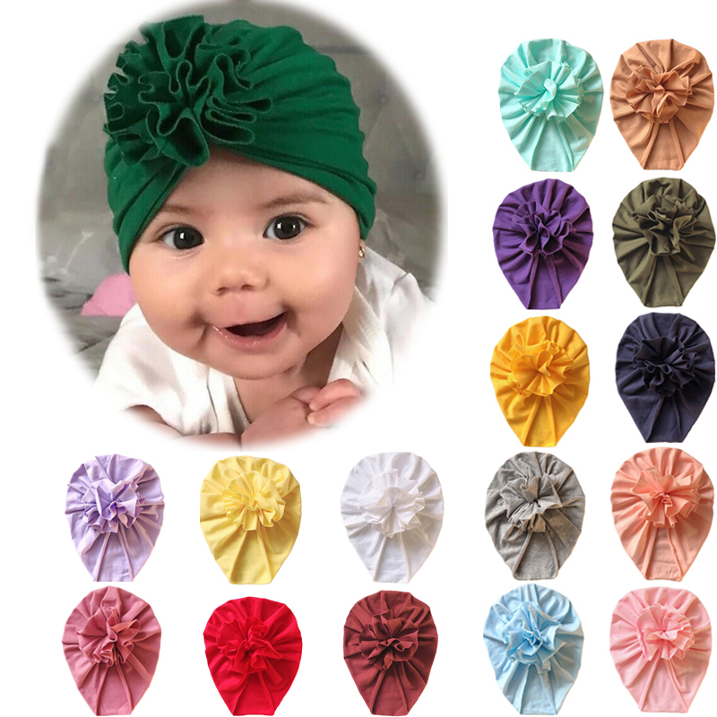 2020 New Baby Headband Newborn Toddler Baby Girls Head Wrap Turban Headbands Hair Accessories Baby Gifts For 0-2Y