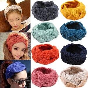 16 Colors Knitting Wool Headba