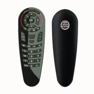 Image 2 - HUACP G30 เมาส์ 33 คีย์ IR การเรียนรู้ Gyro Google Voice Search 2.4G Air Mouse รีโมทคอนโทรลสำหรับทีวีสมาร์ททีวีกล่อง