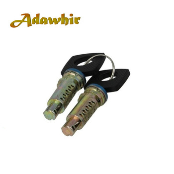 6707600205 TWO PCS DOOR LOCK BARRELS WITH 2 SAME KEYS FOR VW LT MERCEDES SPRINTER VITO W638 ANY DOOR BRAND NEW image