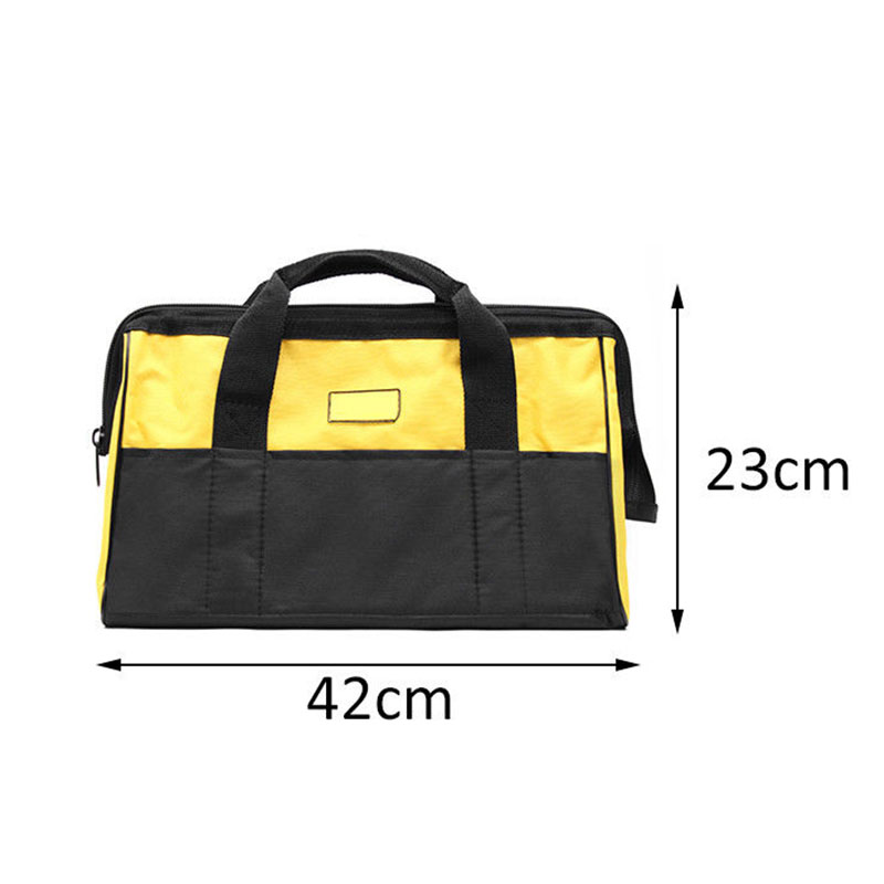 Mechanics Tool Bag Canvas Multi-function Storage Hand Tool Bag Portable Tool Kit