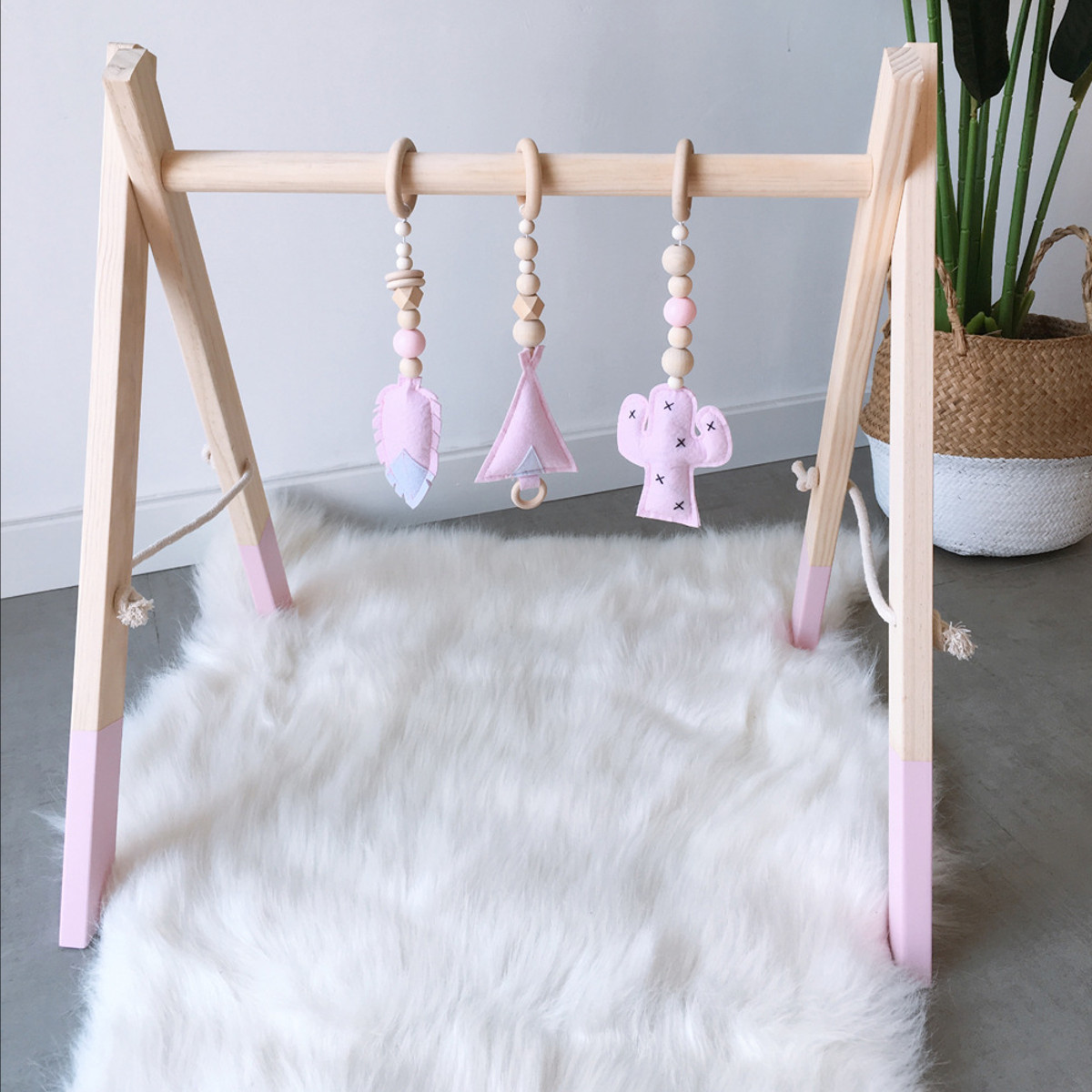 3Pcs Infant Baby Hanging Cartoon Activity Gym Pendant Decoration Toy Newborn Early Educational Carpet Toys Children Ins Style | Happy Baby Mama