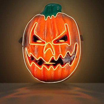 scary halloween led pumpkin…