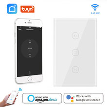 USWiFi Smart Curtain Switch Electric Motorized Curtain Blind Roller Shutter Smart Life Tuya APP Works with Alexa and Google Home все цены