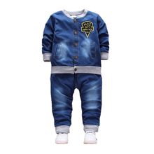 New Spring Autumn Baby Girl Clothes Children Boys Letter Jacket Pants 2Pcs/sets Toddler Fashion Costume Infant Kids Tracksuits children girls clothes kids baseball infant sweatershirt toddler fashion brand jacket new spring autumn baby outwear boys coat