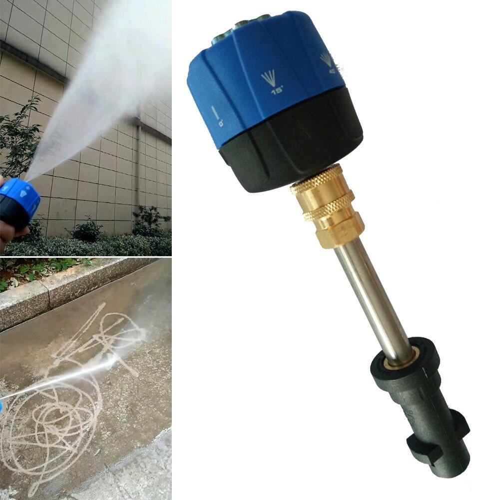 Druck Washer Spray Düse Tipps 1/4'' Schnell Stecker 1800 PSI Haushalt Auto Reinigung Werkzeuge pulverizador agua LBShipping