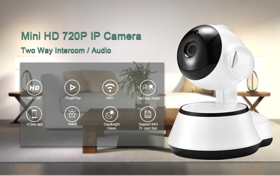 H7e70c17e97cb4013b4da9a843af6ee26S BESDER Home Security IP Camera Wireless Smart WiFi Camera WI-FI Audio Record Surveillance Baby Monitor HD Mini CCTV Camera iCSee