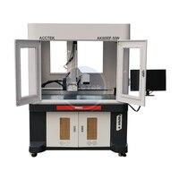 Full enclosed 20w 30w 50w fiber laser marking machine 600x900mm metal marking machine laser cnc with good price