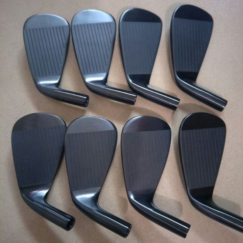 Plating Black 718 AP3 Golf Irons Golf Clubs 3-9P 8Pcs FORGED With Shaft HeadCover
