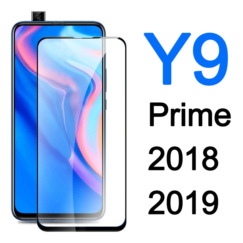For Huawei Y9 Prime Protective Glass On Y 9 2019 2018 Screen Protector Y9Prime Y92019 Sheet Armored Tempered Glas 9y Y9s Film
