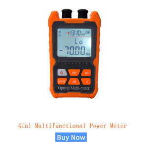 Image 1 - Mini 4 in1Multifunction Optical PowerNC NT  Meter Visual Fault Locator Network Cable Test optical fiber tester 5km 15km  VFL