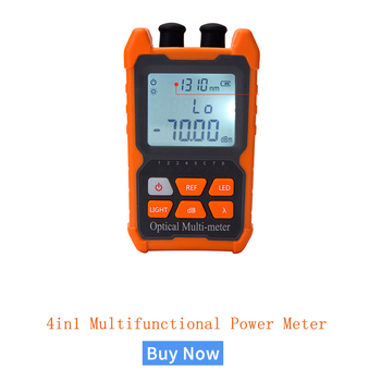 Mini 4 in1Multifunction Optical PowerNC NT  Meter Visual Fault Locator Network Cable Test optical fiber tester 5km 15km VFL - discount item  30% OFF Communication Equipment