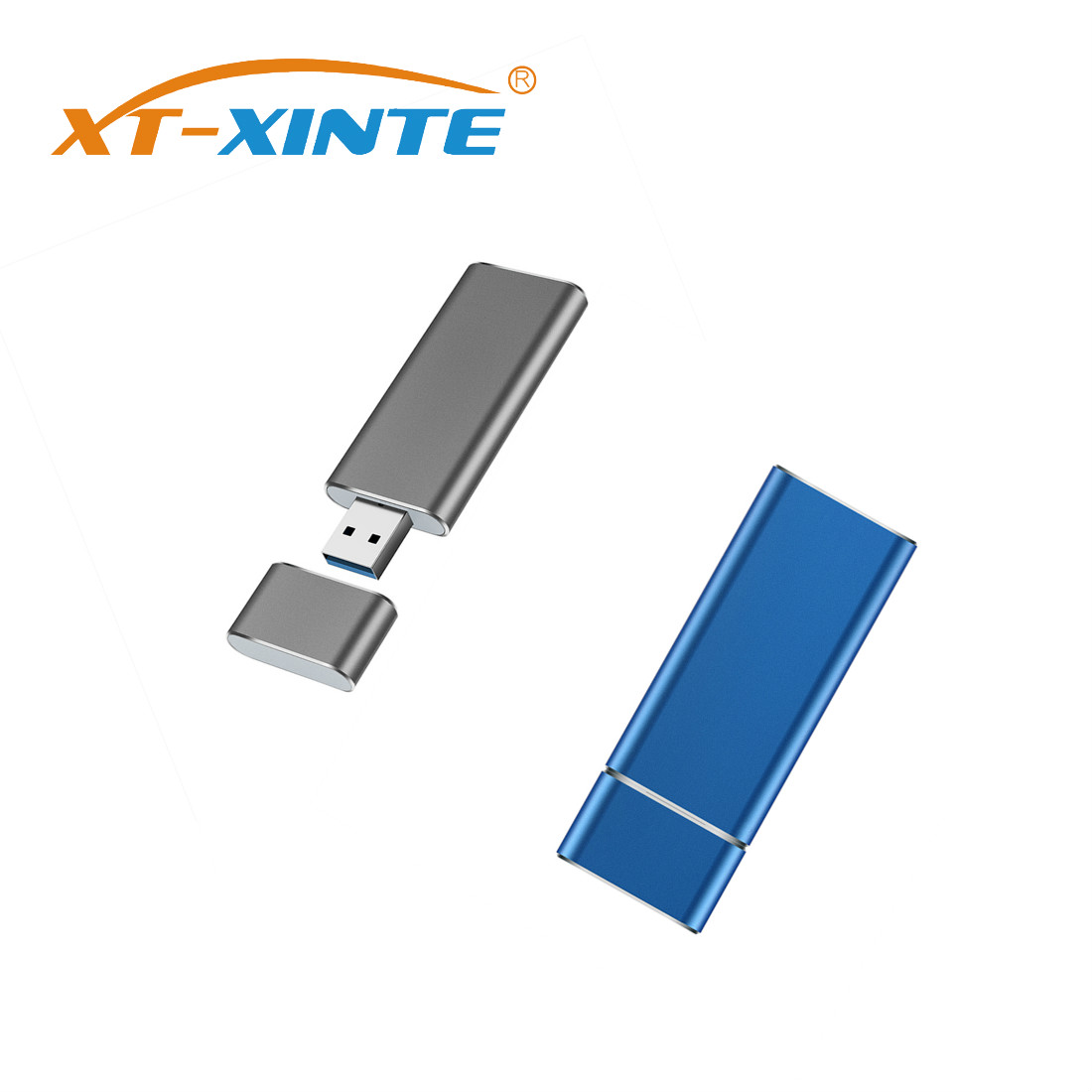 XT-XINTE M.2 NGFF USB3.0 TO SSD Enclosure Solid State Drive External Case Adapter UASP SuperSpeed 5Gbps For 2230 2242 M.2 NGFF