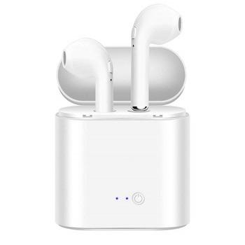 i7s TWS Wireless Bluetooth Earphone for Huawei Y5 (Y6 Y7) Prime 2018 Music Earbud Charging Box