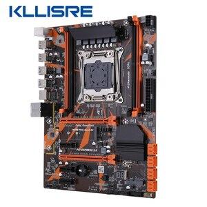 Image 2 - Kllisre X99 D4 di serie della scheda madre Xeon E5 2640 V3 LGA2011 3 CPU 2pcs X 8GB = 16GB 2666MHz di memoria DDR4