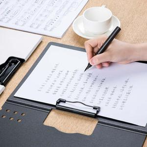 Image 4 - New Youpin Fizz Horizontal A4 Folder Matte Texture Portable Pad Portable Pen Tray Thicken Briefcase School Office Supplies