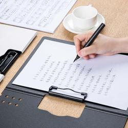Nowy Xiaomi Fizz poziome A4 Folder matowy tekstury przenośny Pad przenośny długopis taca zagęścić teczki szkolne materiały biurowe 4