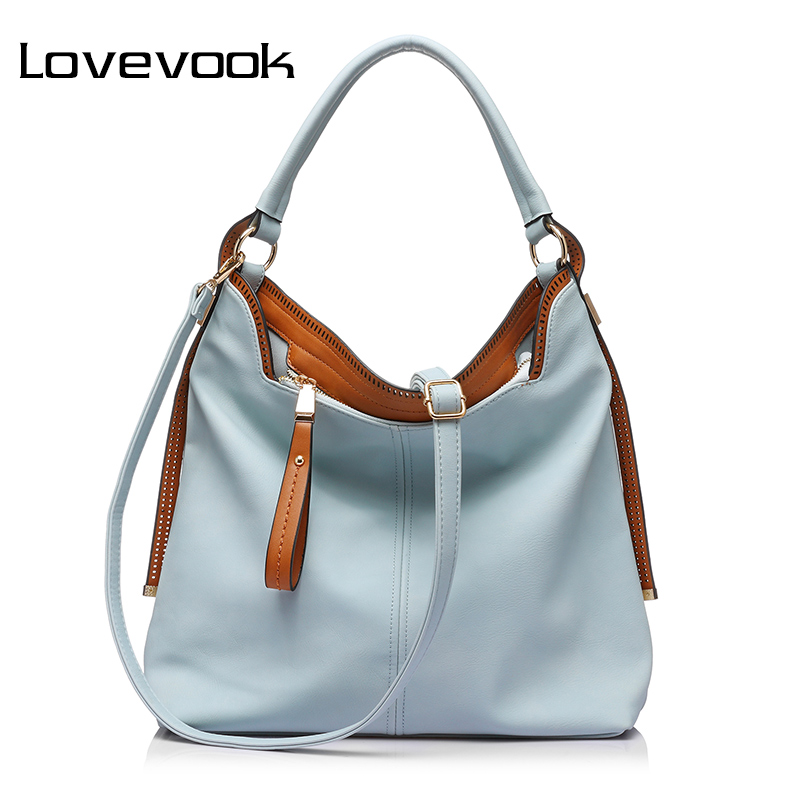 LOVEVOOK Large Shoulder Crossbody Bags For Women Handbag Female Messenger Bags Artificial Leather Tote Bags Ladies Purses 2018