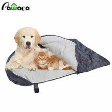 Dog Sleeping Bag Soft Fleece Winter Warm Pet beds Polar Material Puppy Sofa Cushion Cat House Kennel Waterproof