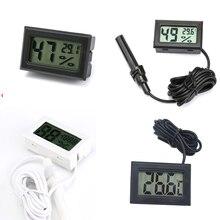 Monitoring-Display Refrigerator Aquarium Lcd-Temperature Digital Mini Indoor Gauge