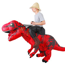 New style T-REX dinosaur  Inflatable costume for Carnival day Adult Fancy Dress Costume Halloween