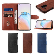 For Oukitel C18 Pro Case Calf Grain PU Leather Flip Stand Wallet Cover with Card Slots and Magnetic Buckle Shell Oukitel C18 Pro for apple ipod touch 7 case vintage calf grain leather flip stand shockproof wallet cover for ipod touch 5 6 case card holder