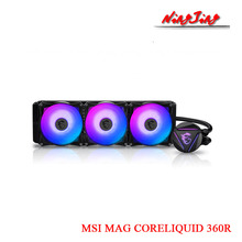 RGB Cooler MSI Water-Cooling Mag Coreliquid Fan-Support AMD 240R 360R Intel CPU New