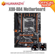 Server Mainboard DDR4 BD4 Huananzhi X99 NGFF ATX Intel RECC128GB PCI-E V1.1x99 All-Series