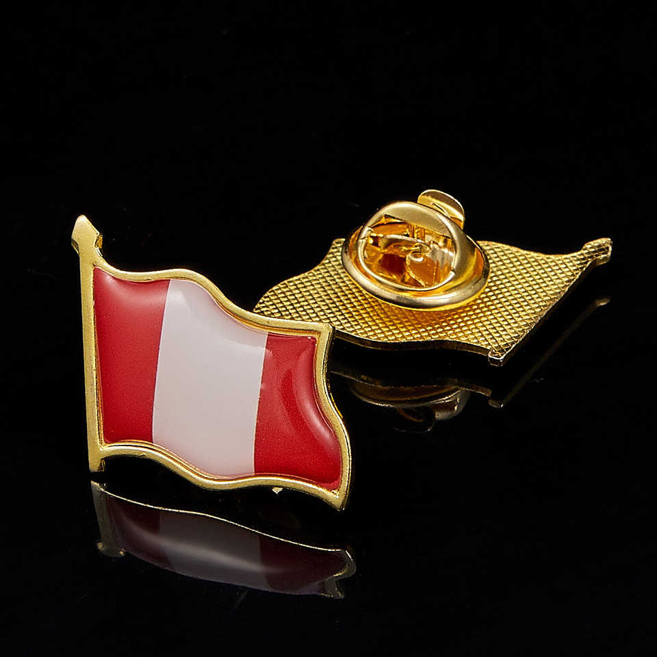 1Pc Italy National Flag Pin Badge for Man Woman Lapel Badge Country Pride