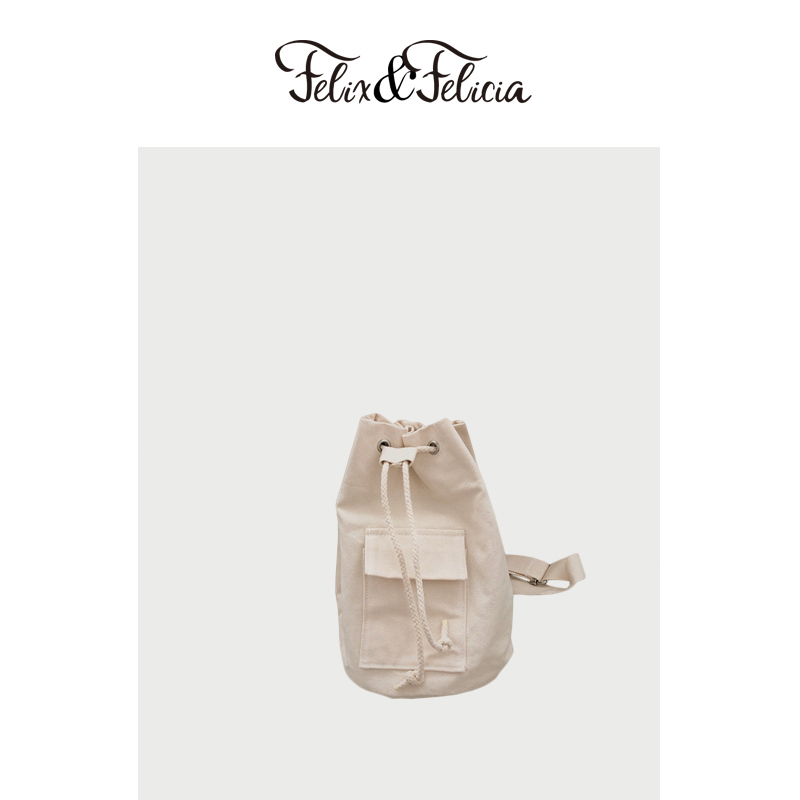 FELIX&FELICIA Fashion Backpack Drawstring Bags For Women 2019 Ladies Teenagers Canvas Casual Crossbody Large Capacity Travel Bag