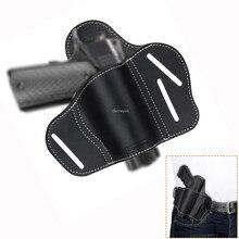 Prawa ręka taktyczne ukryte Carry Belt Gun kabura dla Glock 17 19 22 23 43 Sig Sauer P226 P229 Ruger Beretta 92 M92