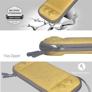 Image 5 - 닌텐도 스위치 라이트에 대 한 휴대용 슬림 케이스 스토리지 가방 콘솔 액세서리 여행 운반 케이스 파우치 Shockproof 가방