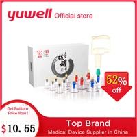 Yuwell Vakuum Schröpfen Set Körper Fettabsaugung Entspannen Massager Medizinische Gerät Vakuum Schröpfen Tassen mit Magnetische Akupunktur Nadel