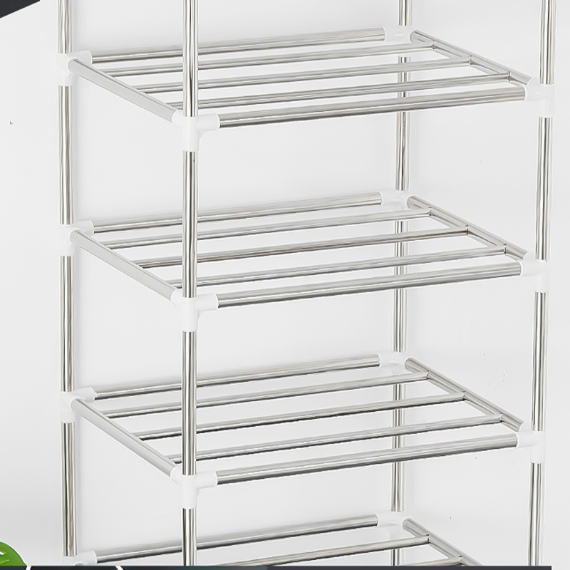 US $16.87 45% OFF|3/4/5 Layer Stainless Steel Multi function Kitchenware Rack Assemble Kitchen Storage Organizer Bathroom Storage Rack Shoe Racks|Storage Holders & Racks| |  - AliExpress