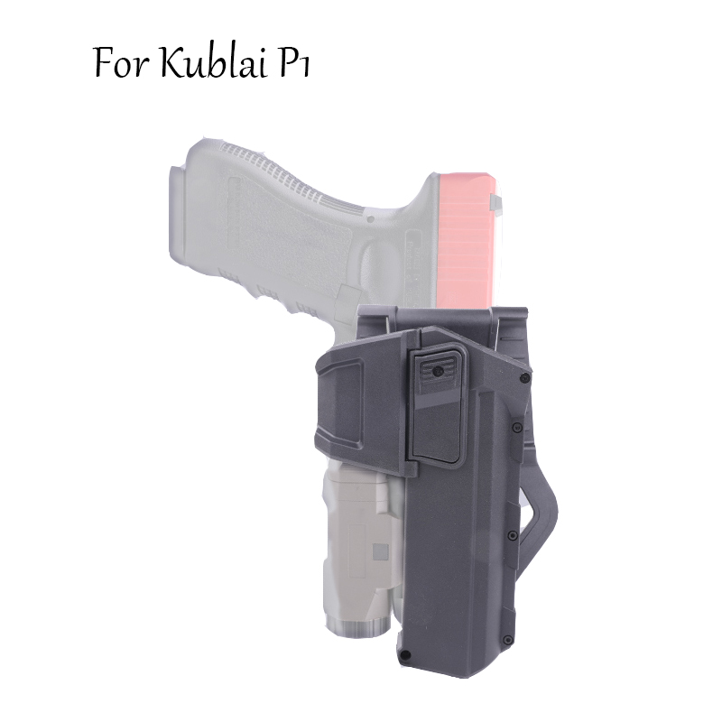 Tactical Light Quick Pull Sleeve Kublai P1 G17 Universal Waist Quick Pull Sleeve Tactical Pistol Toy Thigh Cover Waist Cover