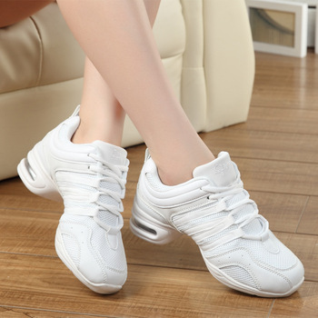 Spring summer new increase dance shoes women sneakers soft bottom fitness off white tm will shoes  zapatos de mujer 34-42