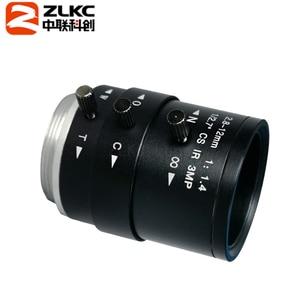 Image 2 - Objetivo FA de montura CS de 3,0 megapíxeles, lente de Iris Varifocal de 2,8 12mm, función IR, lente de cámara de seguridad, nuevo