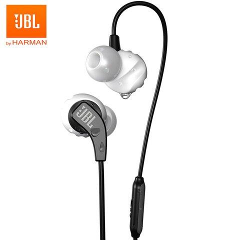 Fones de Ouvido Suor-magnética à Prova de Resistência Controle de Mãos Livres com Microfone para Iphone Esporte Baixo Correr In-line Android Jbl