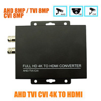 HDMI Converter Adapter Full HD 4K 1080P 8MP BNC HDMI Video Converter Monitor HDTV DVRs Convert TVI CVI AHD Video Signal